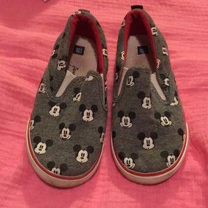 Disney gap slip on shoes
